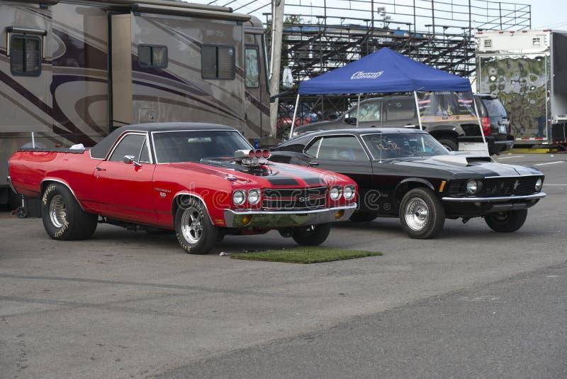 Download Chevelle Y Competidores Del Mustango Imagen de archivo editorial - Imagen de ventilador, corredor: 42428284