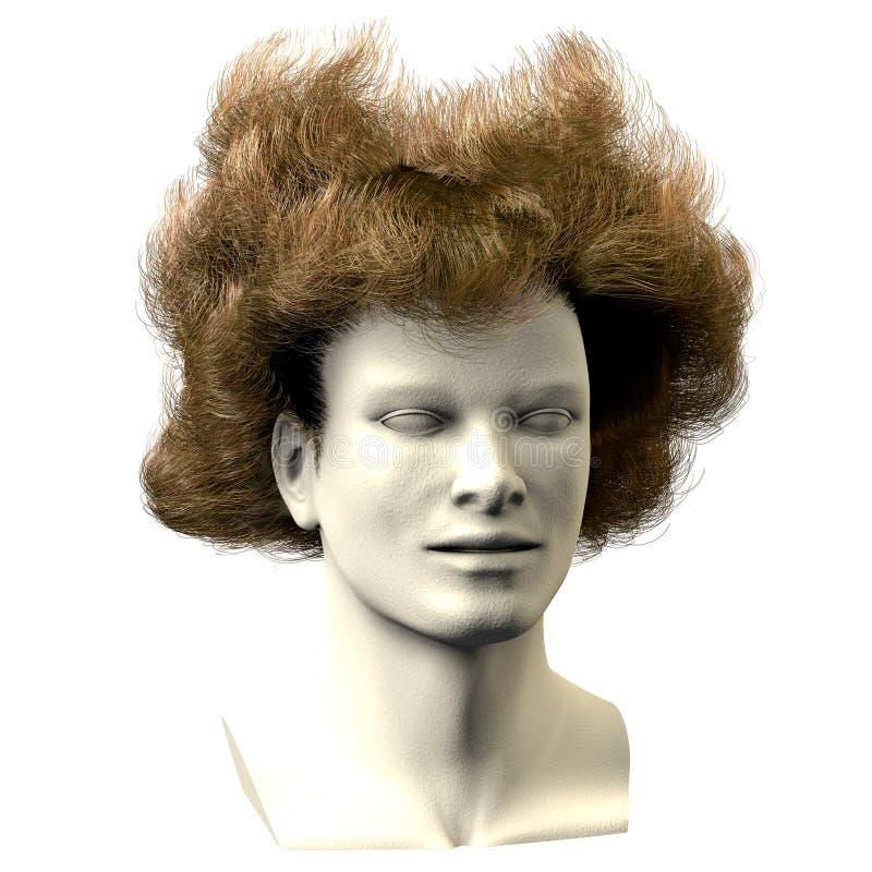 cheveu 01 sauvage photographie stock