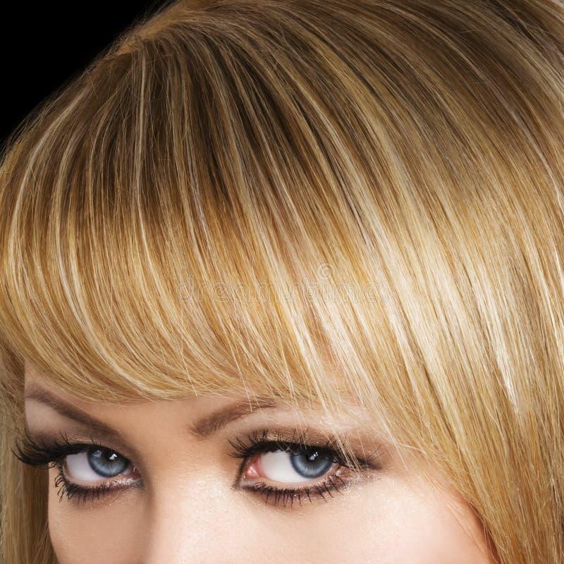 cheveu blond photographie stock libre de droits