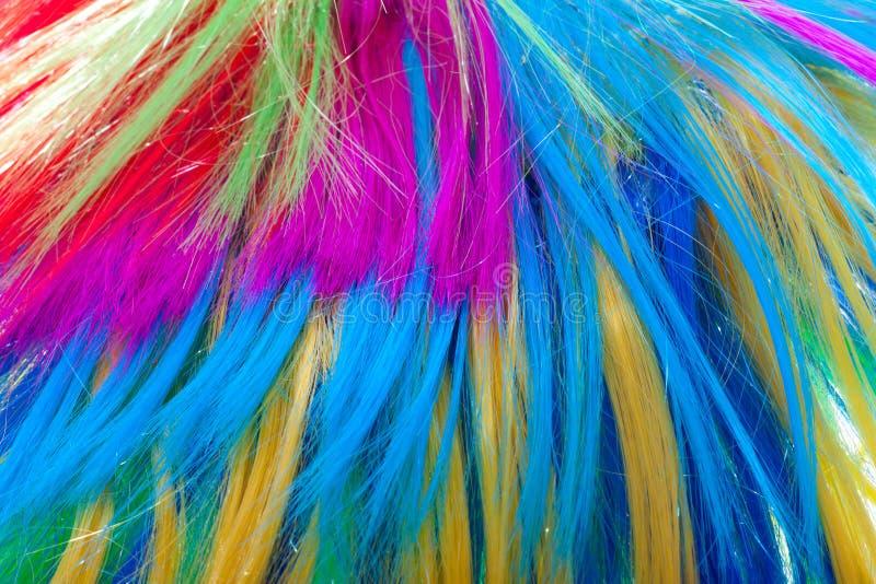 Cheveu de couleur de fond images libres de droits