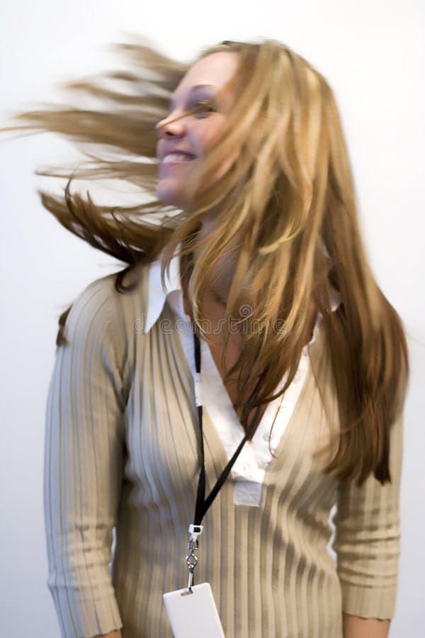 Cheveu de vol photographie stock