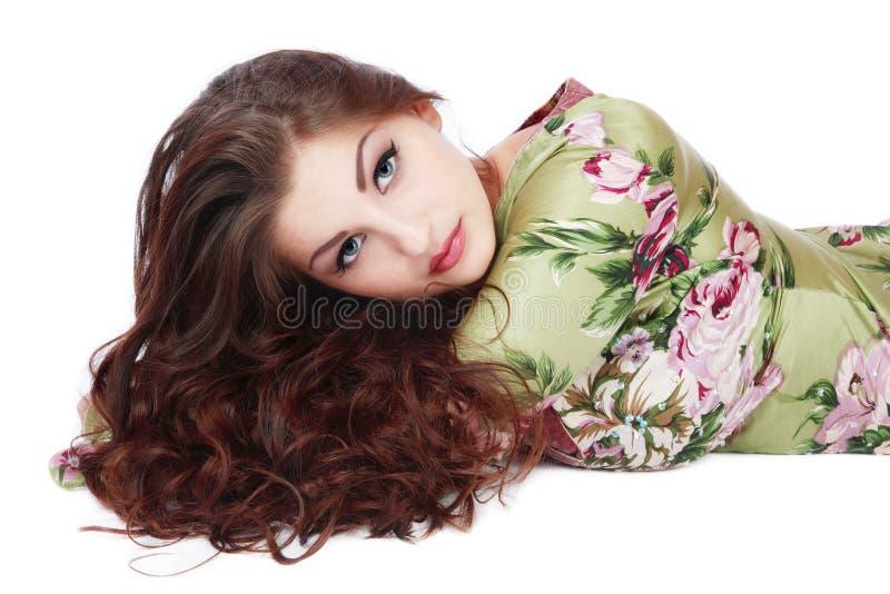 Cheveu magnifique photographie stock
