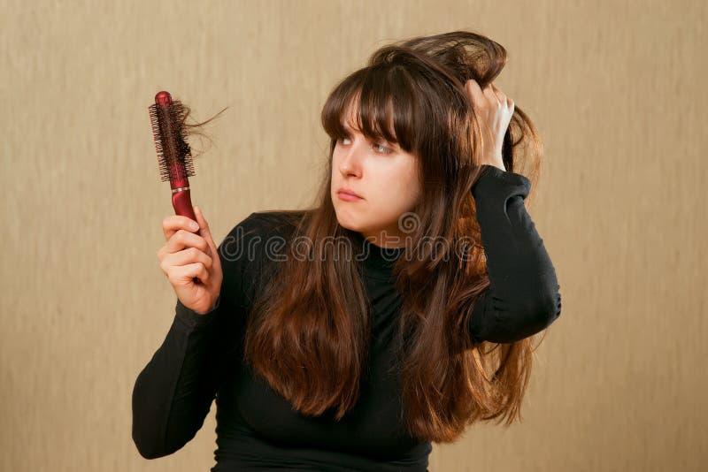 Cheveu malpropre photographie stock libre de droits