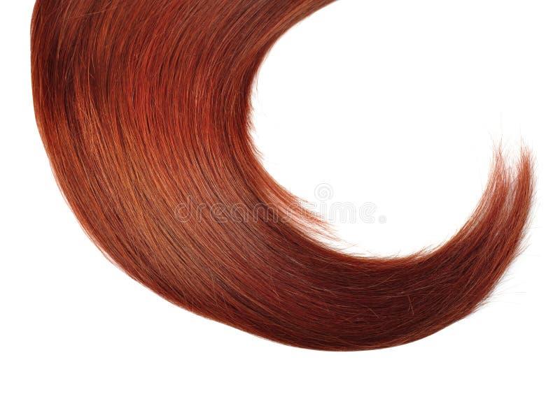 Cheveu rouge images libres de droits