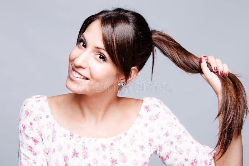 Cheveu sain photo libre de droits