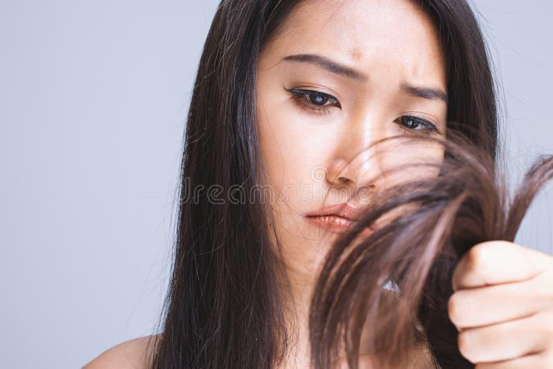 Cheveu sec photographie stock