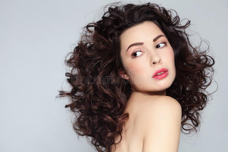 Cheveux bouclés photos libres de droits
