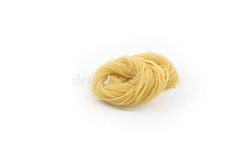 Cheveux d'ange de spaghetti photo stock