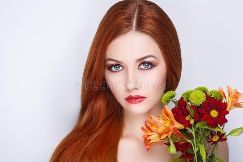 Cheveux lumineux de femme photo libre de droits