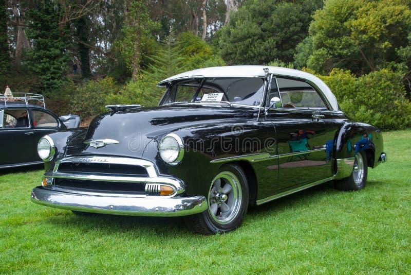 Chevrolet 1950 Delux Redaktionelles Bild Bild Von Drehzahl 27371715