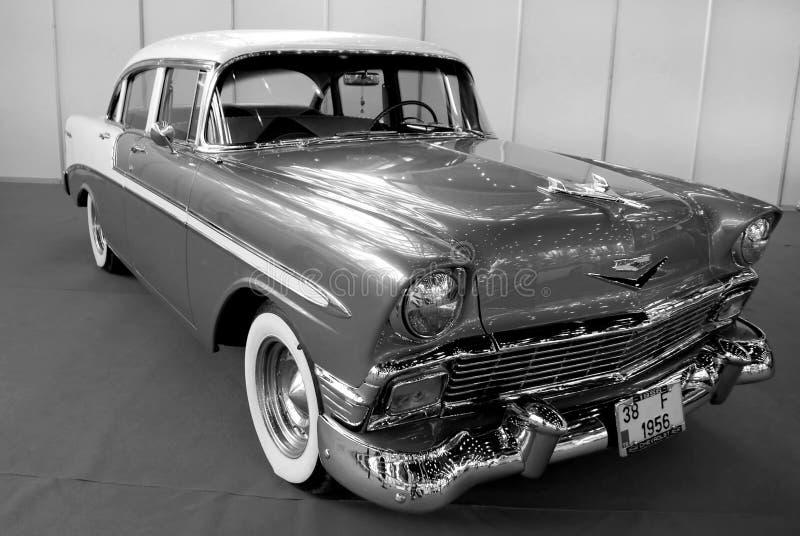 Chevrolet 1956 royalty-vrije stock afbeeldingen