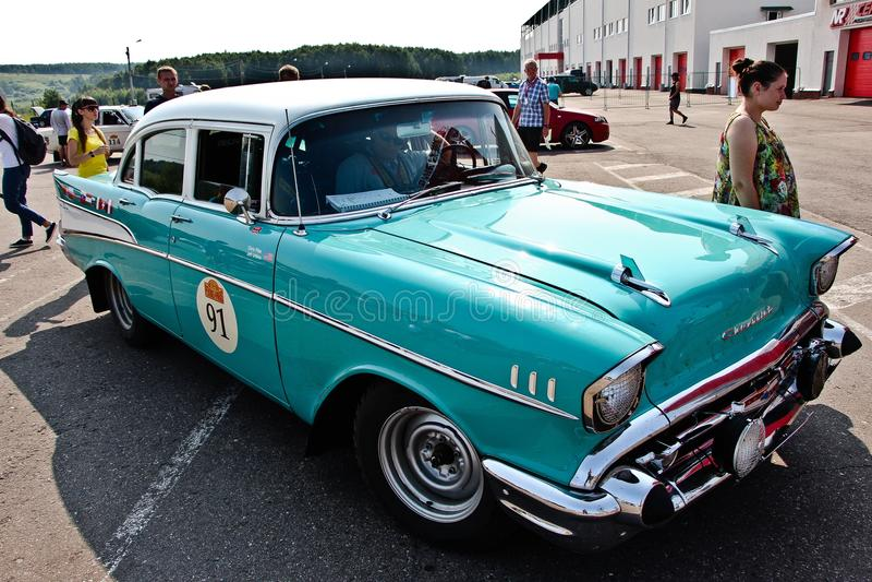 Chevrolet 210 foto de archivo libre de regalías