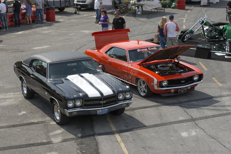 Chevrolet-Autos lizenzfreie stockfotografie