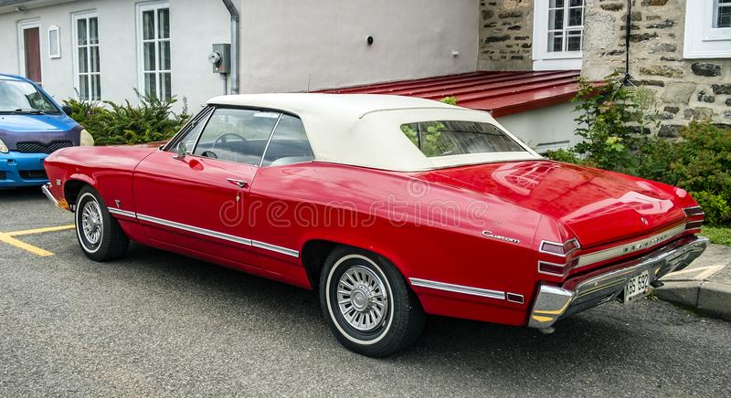 Chevrolet Beaumont 1968. Beaumont was a make of intermediate-sized automobiles produced by General Motors of Canada from 1966 to 1969. These cars were based on royalty free stock photo