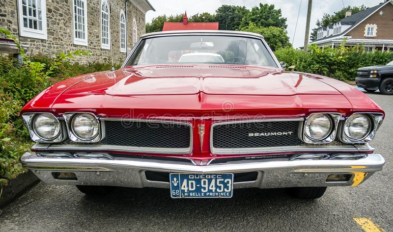 Chevrolet Beaumont 1968. Beaumont was a make of intermediate-sized automobiles produced by General Motors of Canada from 1966 to 1969. These cars were based on stock images