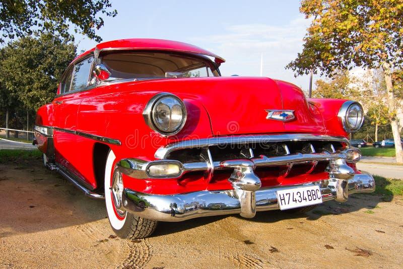 Chevrolet-Bel Air 1954 lizenzfreie stockfotografie