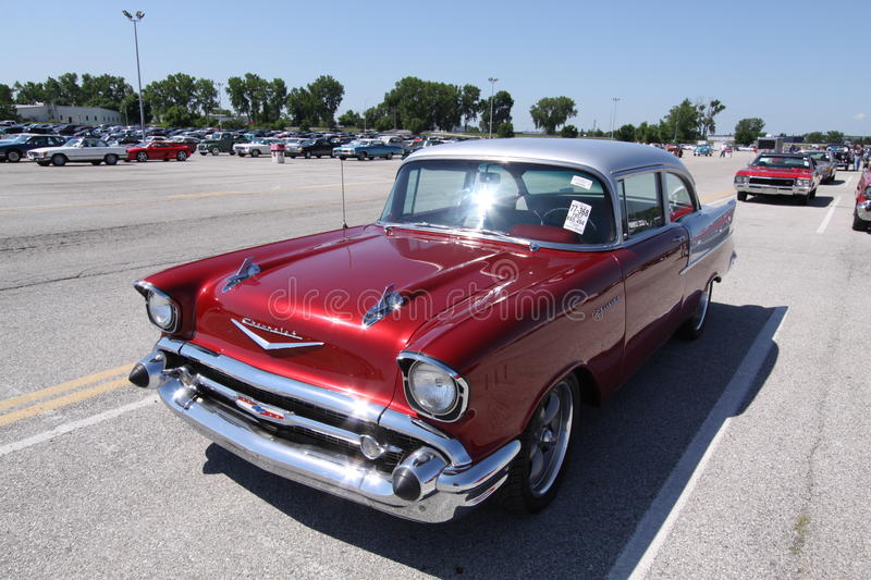 Download Chevrolet Bel Air 1957 editorial photography. Image of retro - 18726222