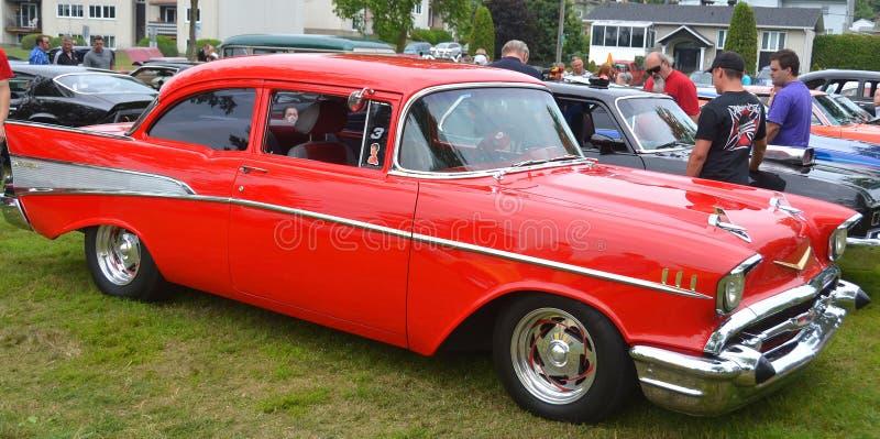 Chevrolet Bel Air stock afbeeldingen