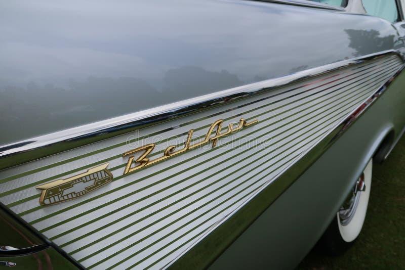 Chevrolet Bel Air lizenzfreie stockbilder