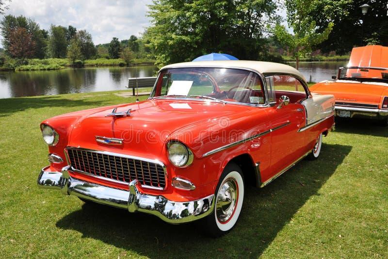 Chevrolet Bel Air In Antique Car Show Editorial Photo