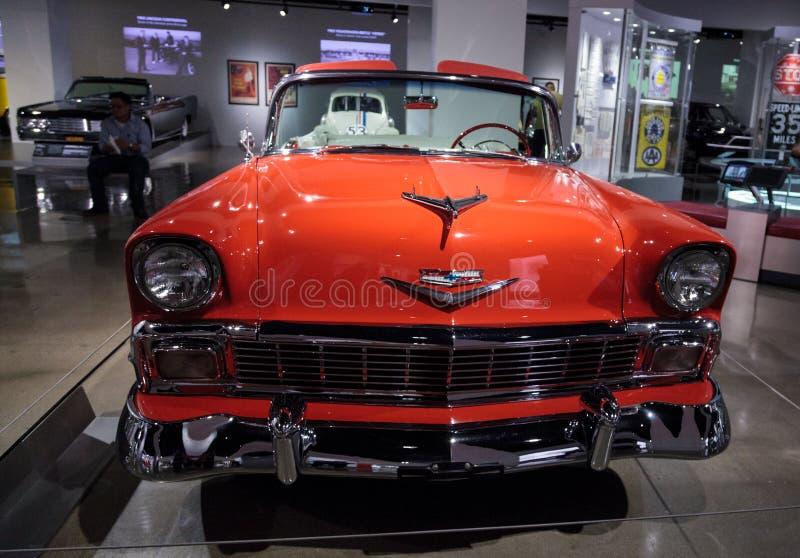Chevrolet 1956 Bel Air Convertible fotografia de stock royalty free