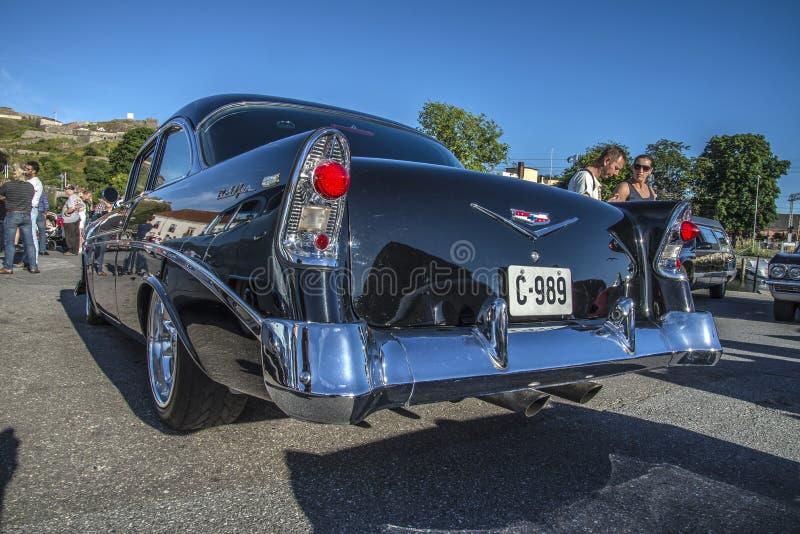Chevrolet 1956 Bel Air Hardtop Coupe images libres de droits