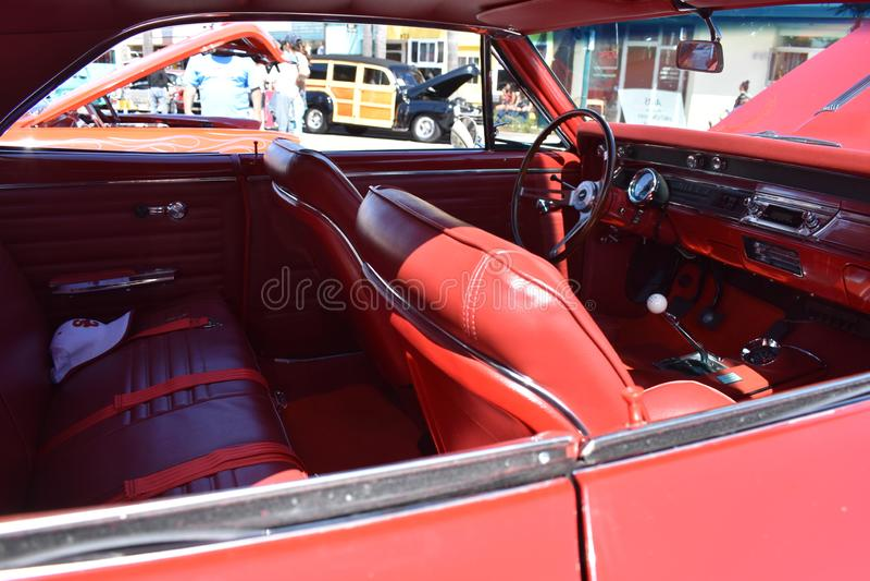 Chevrolet 1956 Bel Air Sedan, 3 stockfoto