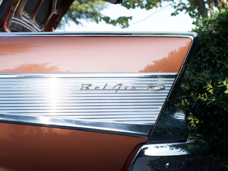 Chevrolet-bel-Lucht royalty-vrije stock afbeeldingen