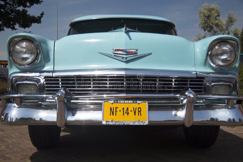 Chevrolet bela powietrze 1956 fotografia royalty free