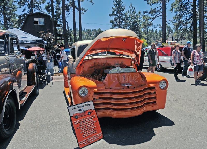 1949 Chevrolet 3100 Bestelwagen royalty-vrije stock afbeelding