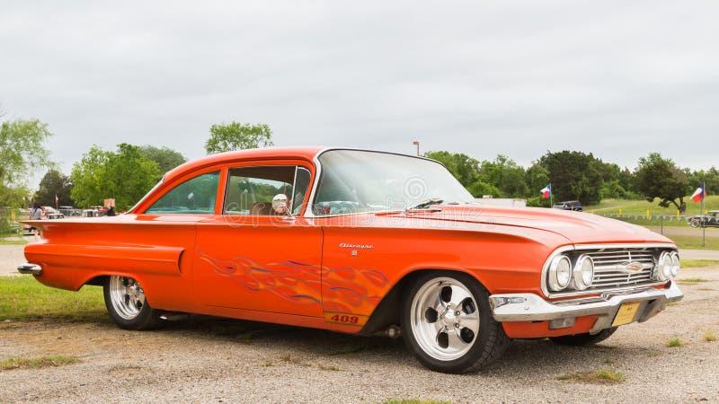1960 Chevrolet Biscayne fotografia royalty free