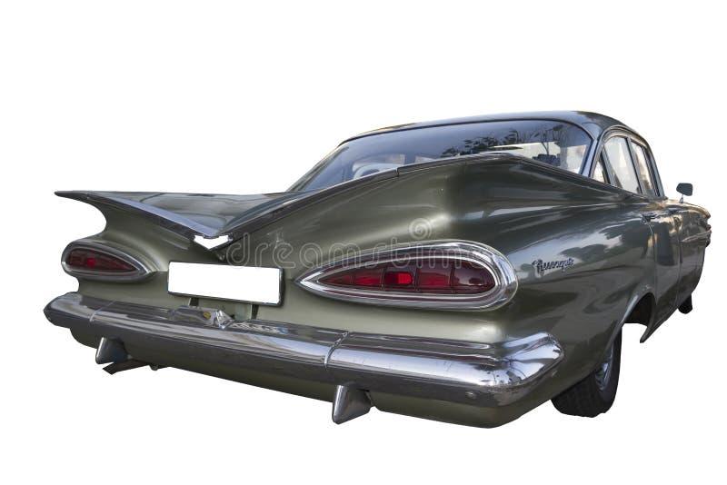 1959 Chevrolet Biscayne vintafe samochód (Impala) obraz royalty free