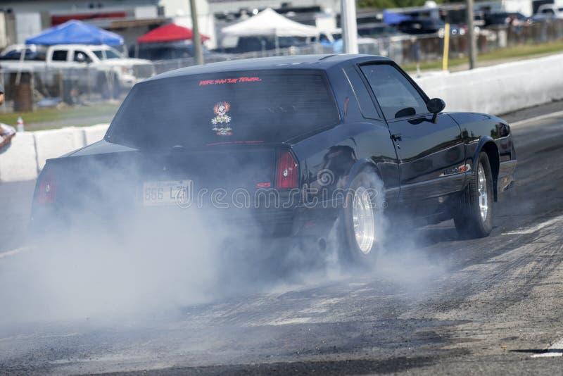 Chevrolet-brandwond uit royalty-vrije stock foto's
