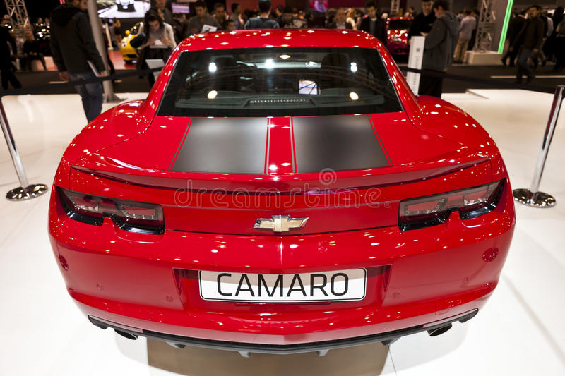 Chevrolet Camaro royalty-vrije stock foto