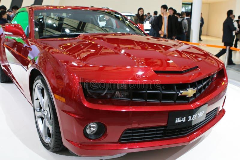 Chevrolet Camaro in Autoshanghai 2013 royalty-vrije stock afbeelding