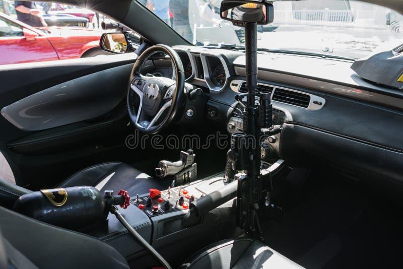 Chevrolet Camaro Batmobile obrazy royalty free