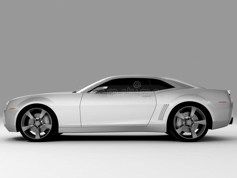 Chevrolet Camaro Concept 2009 royalty free illustration