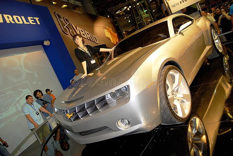 Chevrolet Camaro Concept Editorial Photography