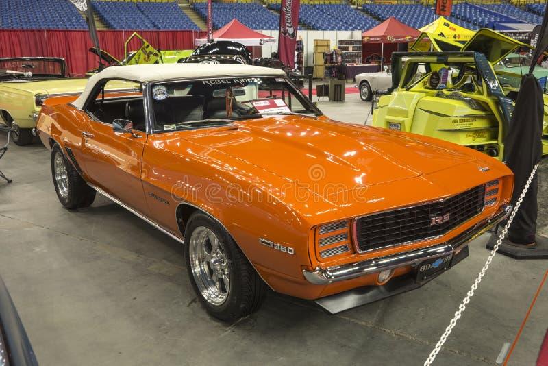 Chevrolet- Camarorallye Sport lizenzfreie stockfotografie