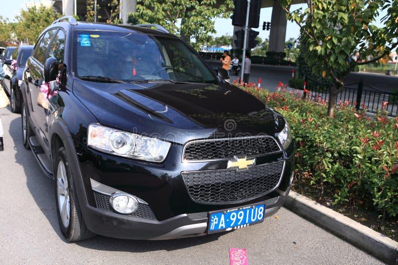 Chevrolet Captiva stock afbeeldingen