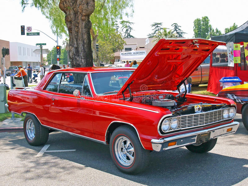 Chevrolet Chevelle Malibu foto de archivo