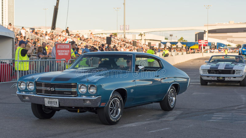 Chevrolet Chevelle Ss At Sema Editorial Photo Image Of Horsepower Classic 81235311
