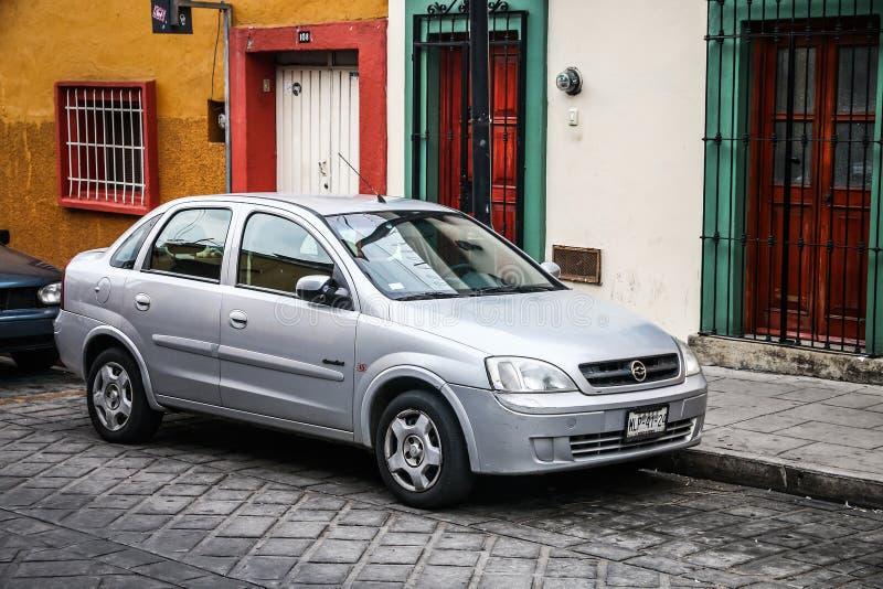 Chevrolet Corsa royalty-vrije stock afbeeldingen