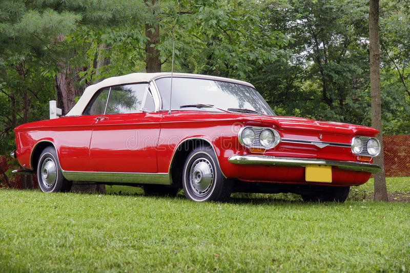 Chevrolet corvair royalty-vrije stock foto