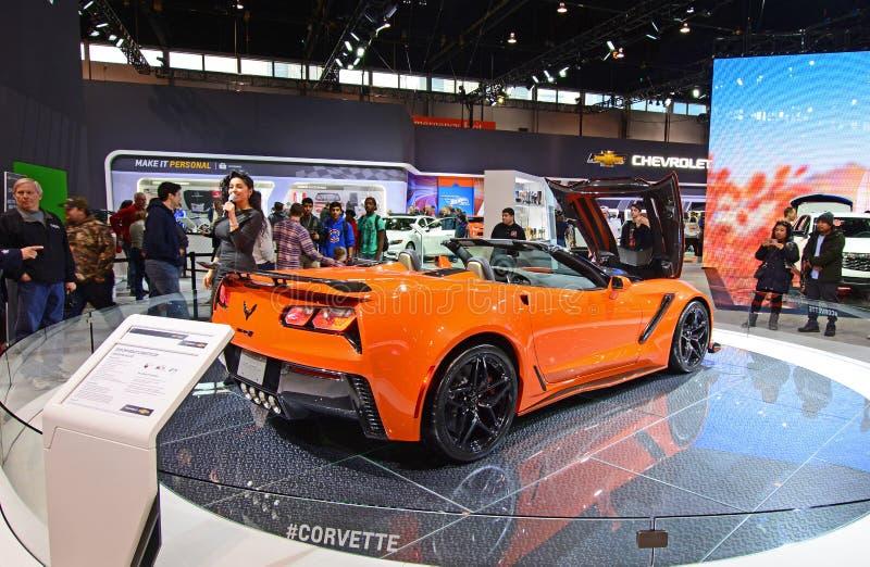 Chevrolet Corvette 2019 image stock