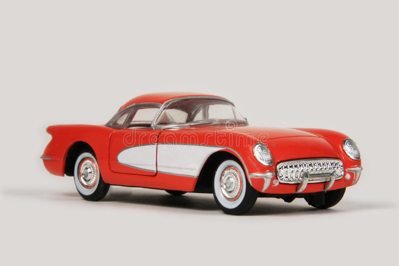 Chevrolet Corvette 1955 royalty free stock image
