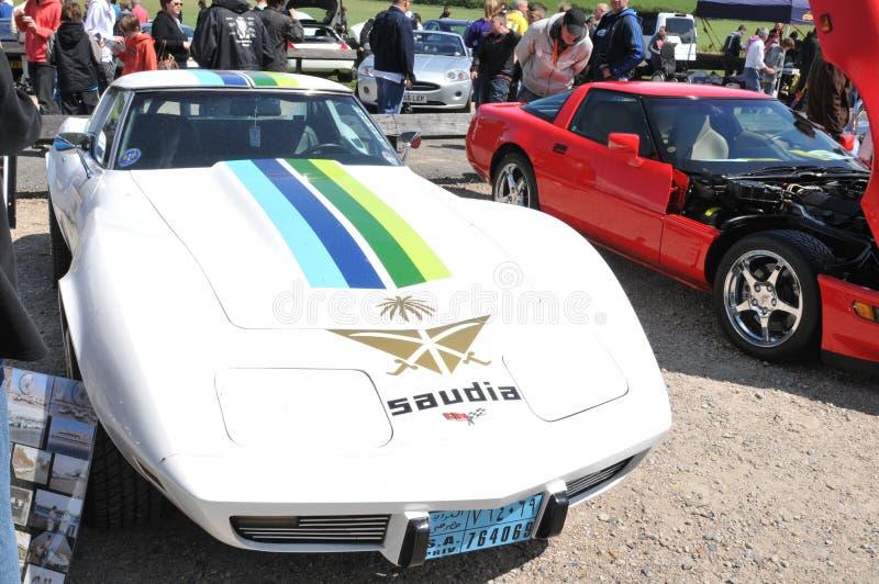 Chevrolet Corvette royaltyfri fotografi
