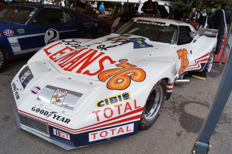 Chevrolet Corvette 1976 photos libres de droits