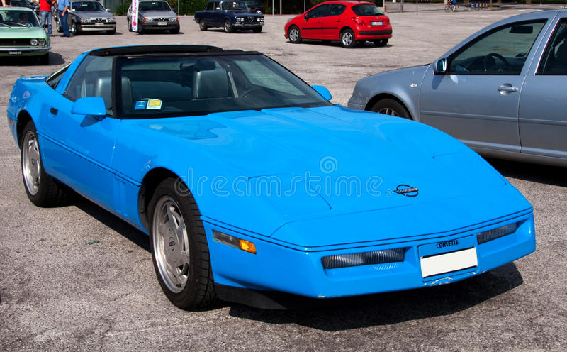 Chevrolet Corvette lizenzfreie stockbilder