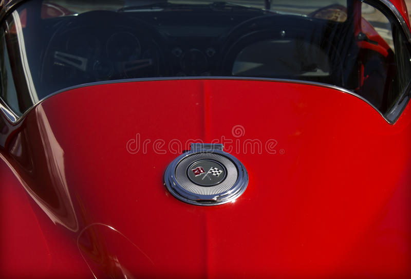 Chevrolet Corvette fotografia stock